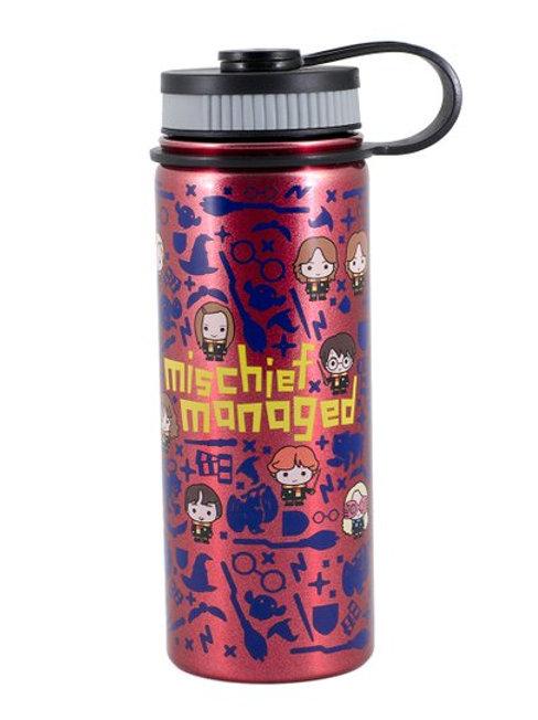 Harry Potter Pink 'Mischief Managed' Water Bottle