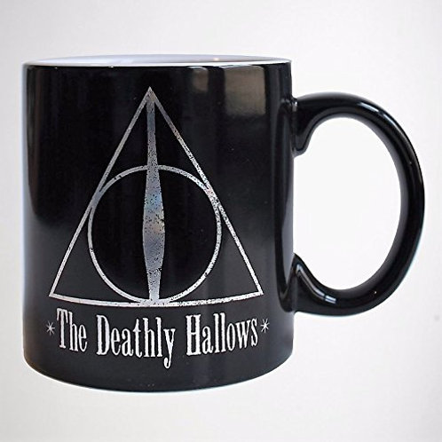 Holographic Deathly Hallows Mug