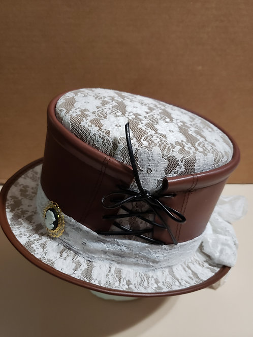 Lace Steampunk Hat