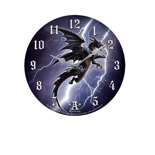 Lightening Dragon Clock