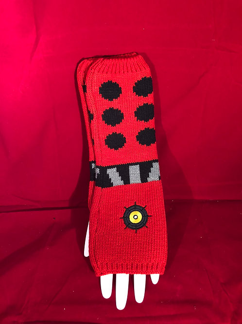 Red Dalek Hand Warmer