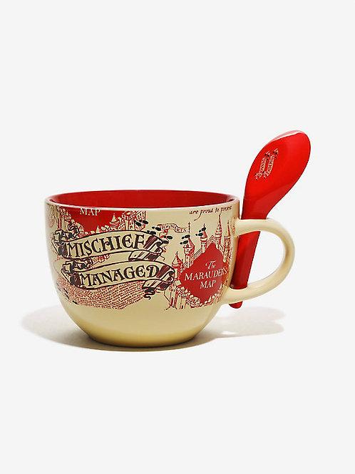 Marauders Map Soup Mug