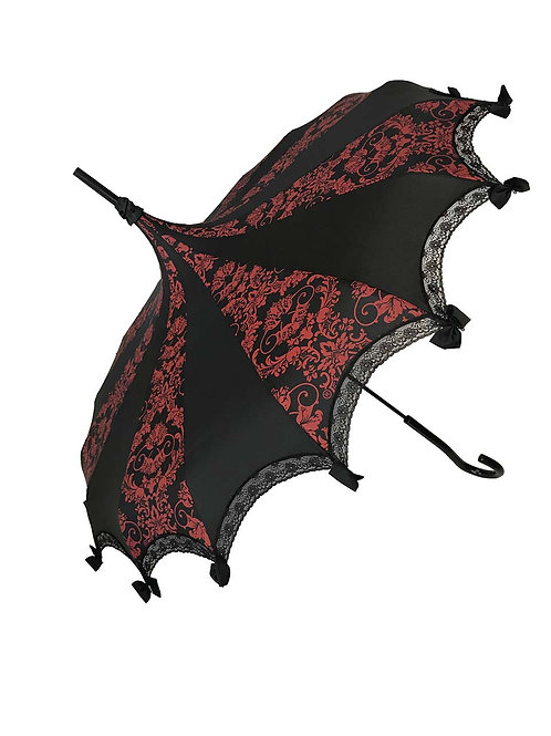 *Preorder - BAT DAMASK RED AND BLACK