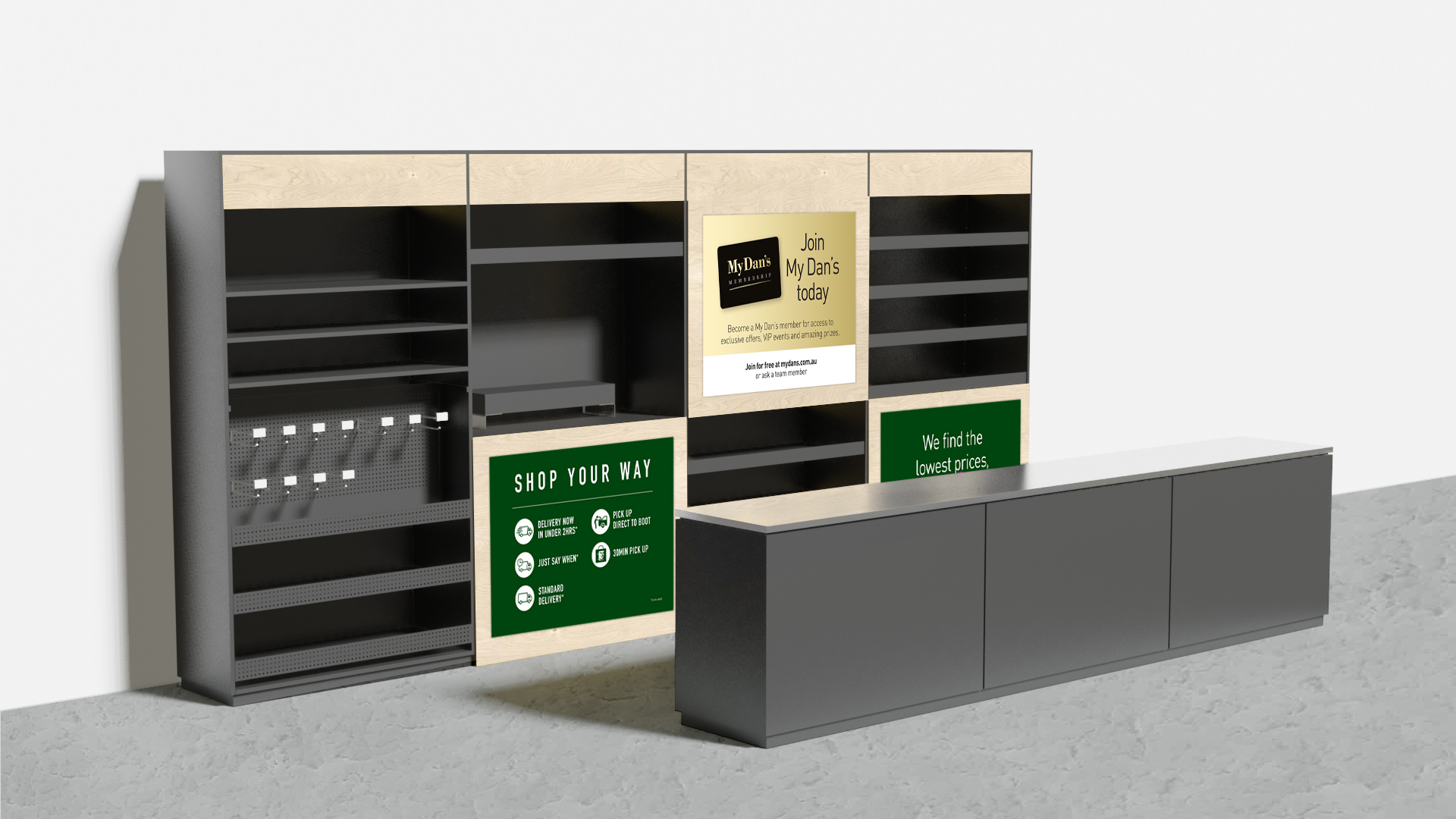 Customised Shelving Solutions