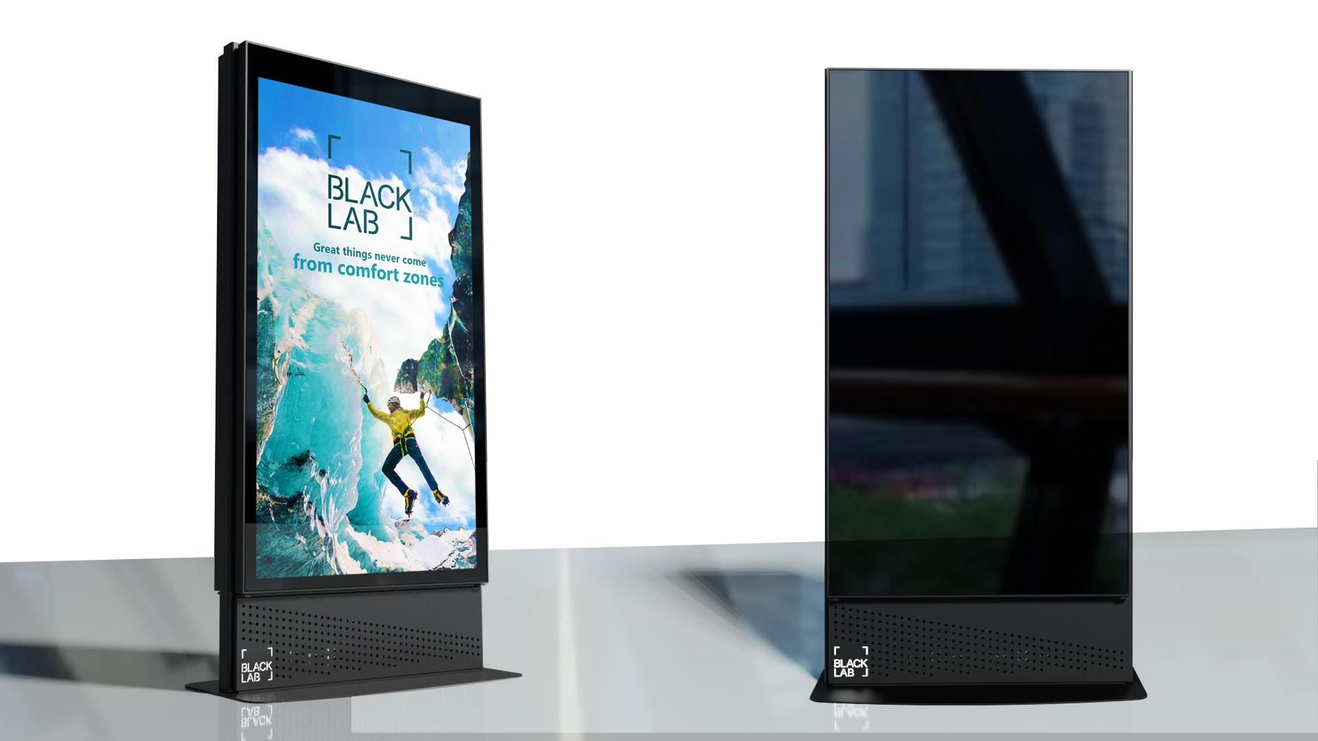 "65"" Freestanding Digital Display"