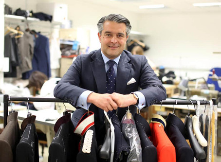 The Londoner: Savile Row keeps things classy with bespoke PJs
