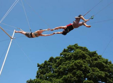 Fly through the air and run away with the circus at Lambeth trapeze school