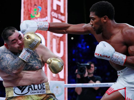 The Sunday Times: Anthony Joshua reclaims his heavyweight titles in Andy Ruiz rematch