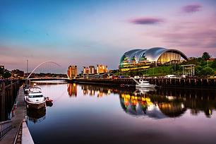 Newcastle upon Tyne, UK. Famous Millenni