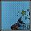 Thumbnail: Blue Waffle Weave Kitchen Towel
