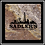 Thumbnail: SM-21 - Faux Marble Printed Square Absorbent Coaster
