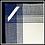 Thumbnail: Blue Plaid White Background Kitchen Towel