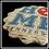 Thumbnail: Round Pointed Edge Absorbent Stone Coaster