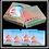 Thumbnail: Four Coaster Kraft Box - Full Coverage Printed Box
