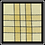 "Thumbnail: Dijon/Black Double Stripe Kitchen Towel - 20""x28"""