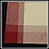 Thumbnail: Navy Plaid Tea-Dyed Background Kitchen Towel