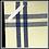 "Thumbnail: Blue/Black Double Stripe Kitchen Towel - 20""x28"""