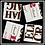 Thumbnail: Puzzle Print - 4 Square Magnets
