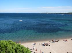 Location appartement Cannes front de mer sur la plage Gazagnaire