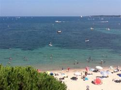 location Cannes bord de  mer