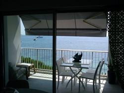 location cannes Palm Beach bord de mer Plage Gazagnaire