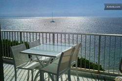 location appartement Cannes vue mer