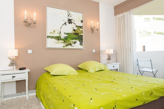 Location Cannes vue mer - Chambre