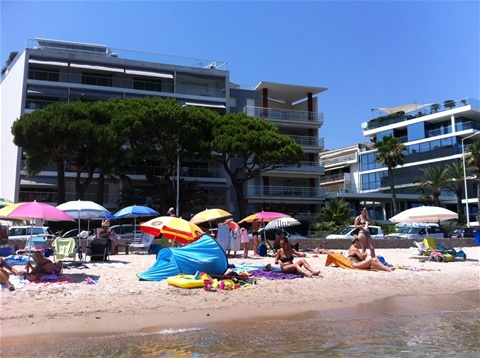 Location cannes vue mer