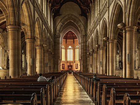 """578 """"Keep us from becoming a 'museum church,' beautiful but mute, with much past and little future."""""""