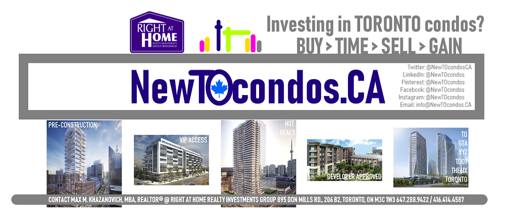Our New Tee Oh condos dot CA is with Right At Home Realty Investments Group Brokerage
