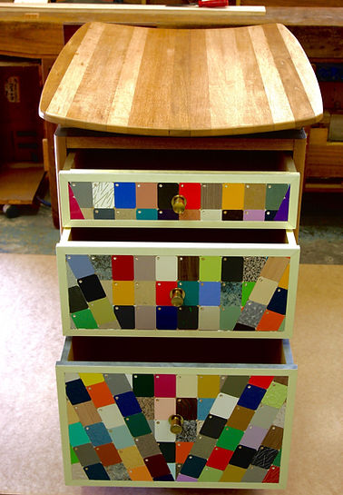 Baby Change Table by Mario Tripolone using a tepestry of Abet Laminati samples.jpg