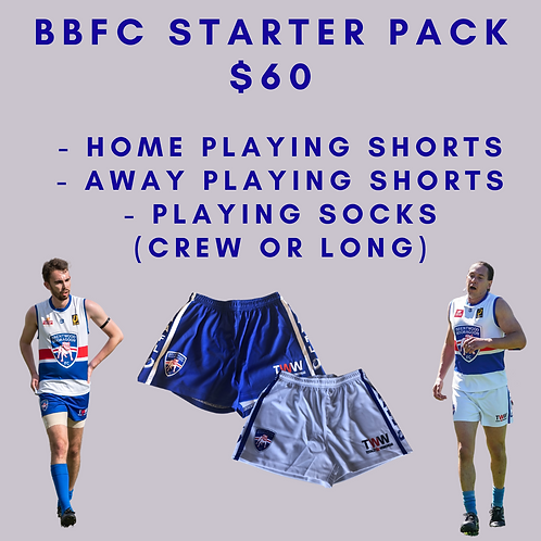 BBFC Shorts - Home & Away - Free Socks when Purchased