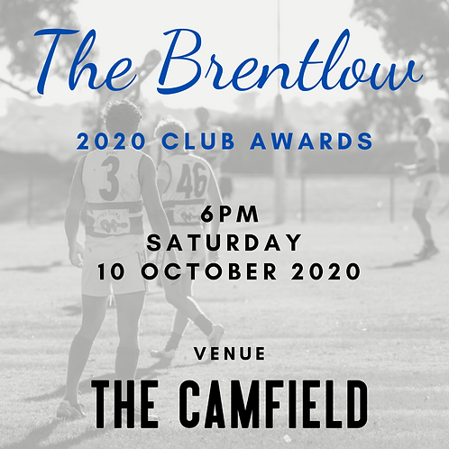 Life Members - Brentlow Club Awards 2020 Tickets