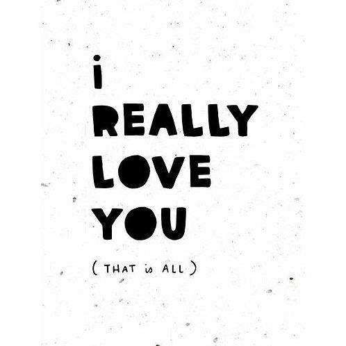 Love You - Plantable Card