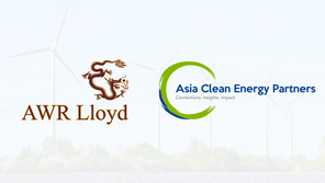 AWR Lloyd Joins Forces with Asia Clean Energy Partners to Help Lead Regional Clean Energy Transition