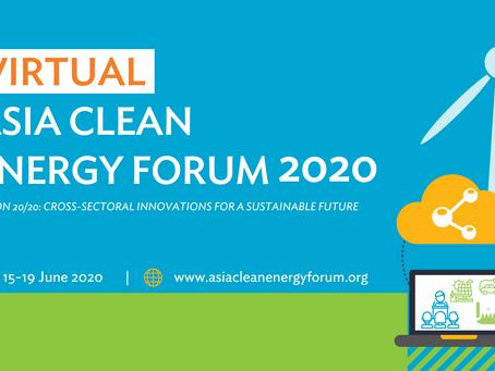 Virtual Asian Clean Energy Forum 2020