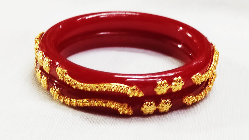 CITY GOLD PLATED RED POLA