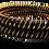 Thumbnail: City Gold -Gold Plated Bangles Black