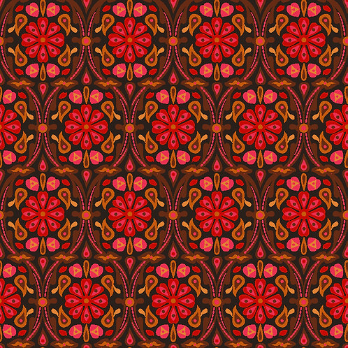 Neo Damask 6701-24 Crimson