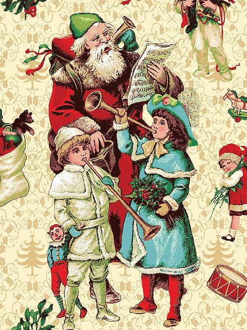 Caroling Santa