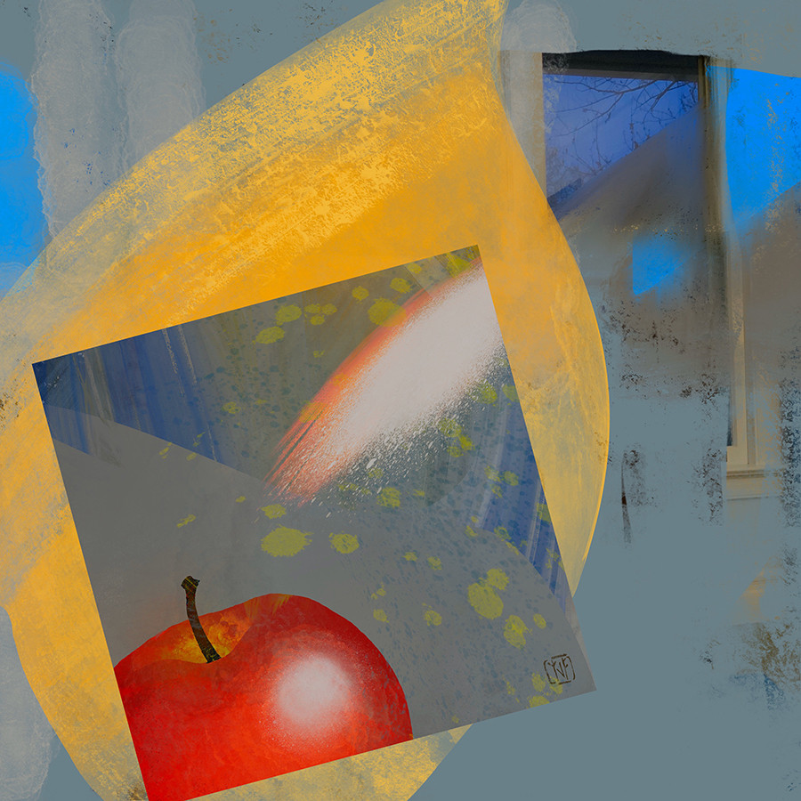 3_4_2020 Drawing Lesson #2 Apple