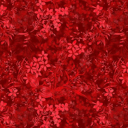 Textured Garden 6491 Red