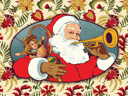 Santa with Trumpet