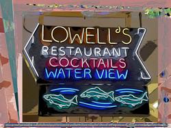 Swimming Toward Lowell's, Seattle