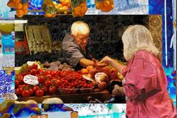 Vegetables Vendor, Quadrilatero