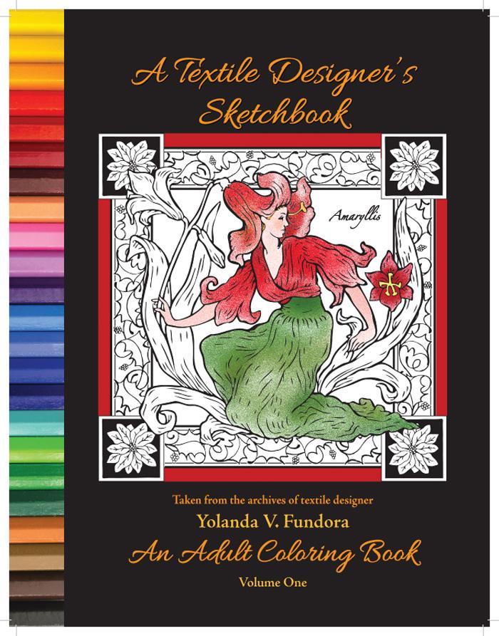 A Textile Designer's Coloring Book 1