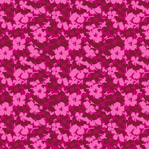 Small flowers 6720-23 Deep Pink