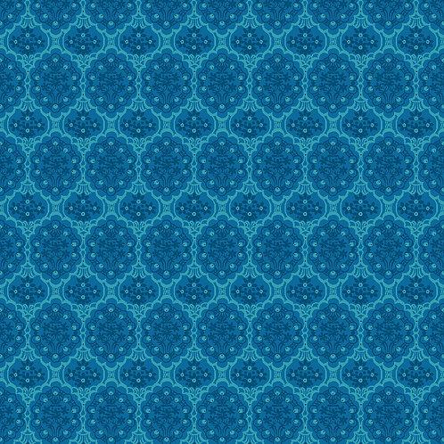 Beaded Basket 6704-46 Light Turquoise