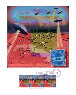 UFOs seen over the island of Cuba