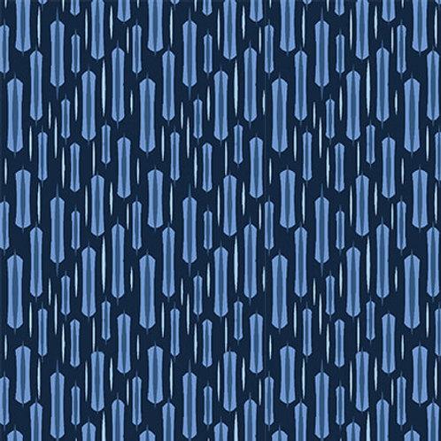 9740-77 Longstitch Blue on Indigo